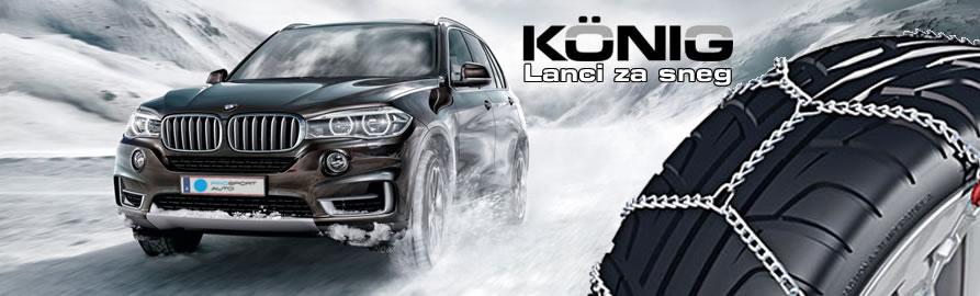 Konig - lanci za sneg - Prosport Auto