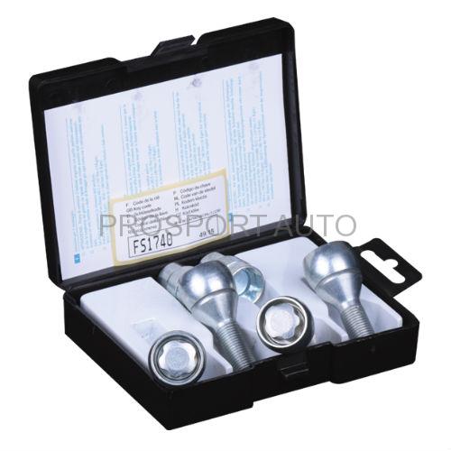 Sigurnosni šrafovi BV3/D - M12x1.25x26mm - 1 ključ - konus - OK17 Prosport Auto